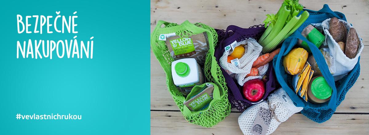 Nabízíme produkty pro bezpečné nakupování. #VeVlastnichRukou